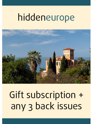 1 year gift subscription + any 3 back issues